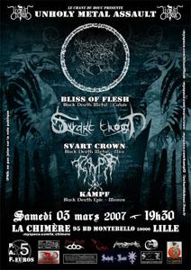 SVART CROWN - BLISS OF FLESH - KAMPF